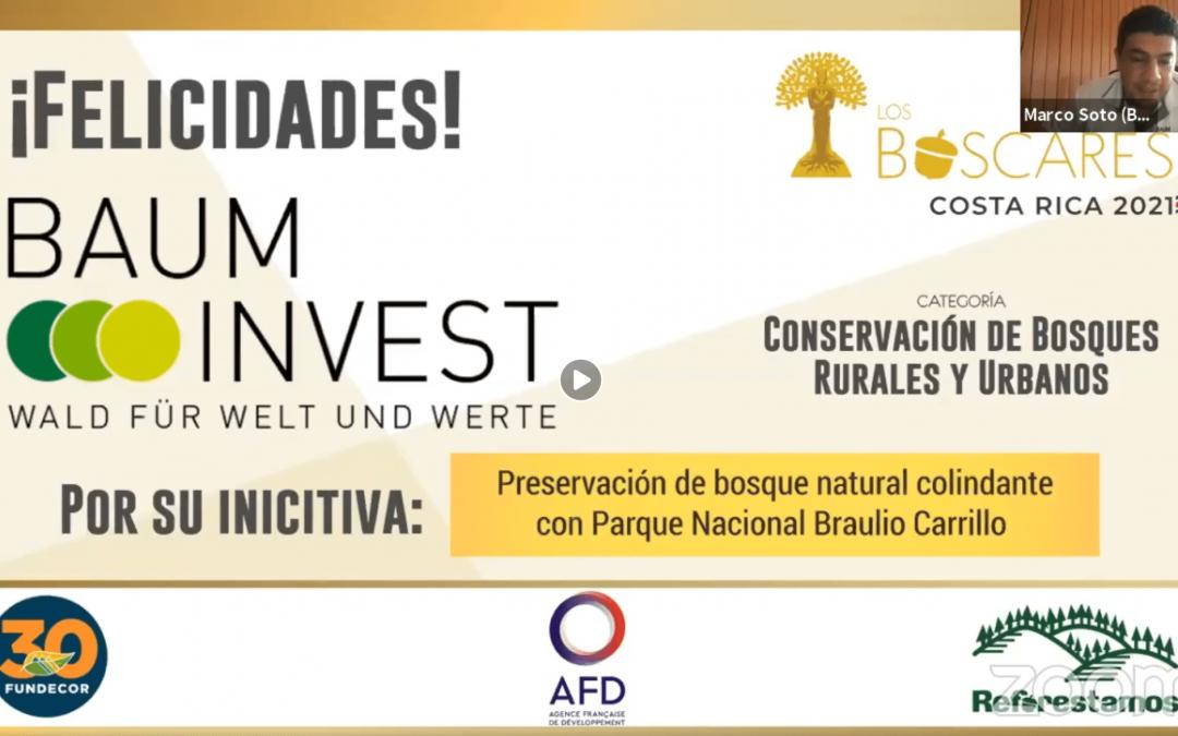 Ein Boscar für BaumInvest